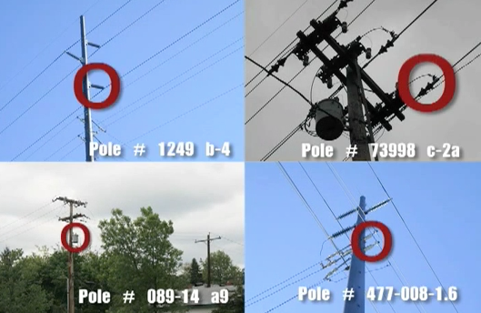 4 pole locations image